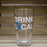 MICHIGAN PINT GLASS | DRINK LOCAL | BLUE