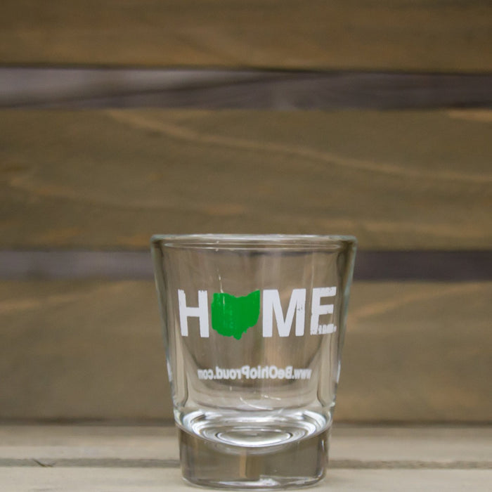 Ohio Shot Glass | HOME | Green