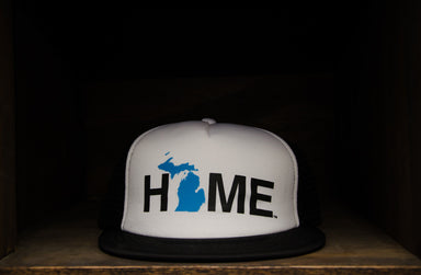 MICHIGAN TRUCKER HAT | HOME | BLUE/BLACK