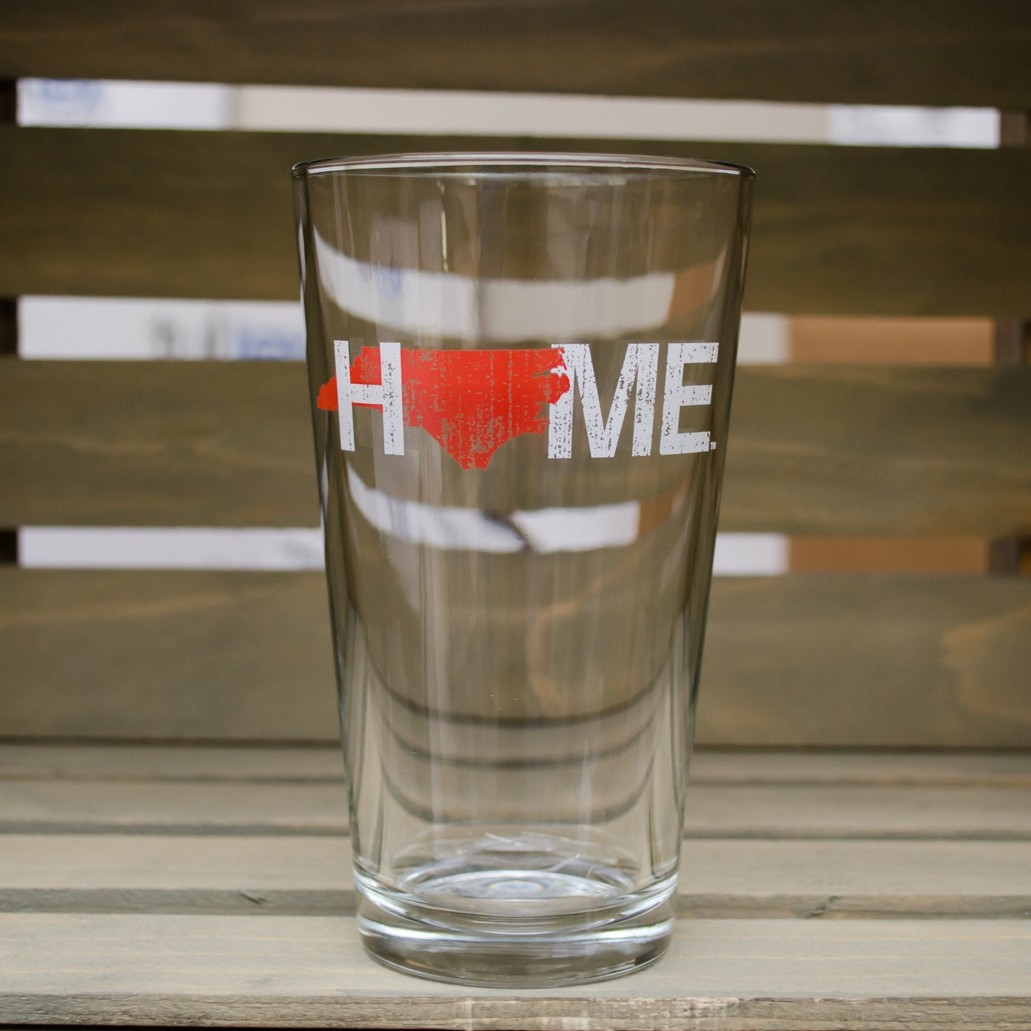 NORTH CAROLINA PINT GLASS | HOME | RED