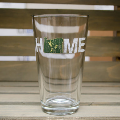 OREGON PINT GLASS | HOME | GREEN/YELLOW - My State Threads