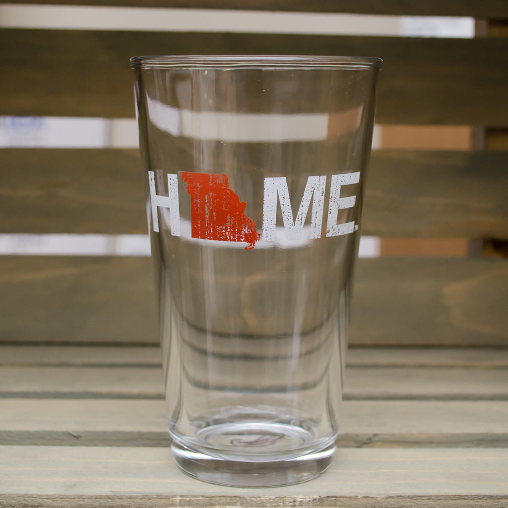 Missouri Pint Glass | HOME | Red