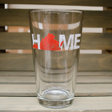 VIRGINIA PINT GLASS | HOME | RED - My State Threads