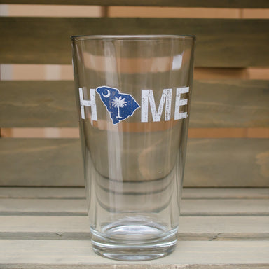 SOUTH CAROLINA PINT GLASS | HOME | PALMETTO