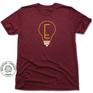 ENLIGHTENMENT COFFEE | UNISEX VINO RED Recycled Tri-Blend | BLUB