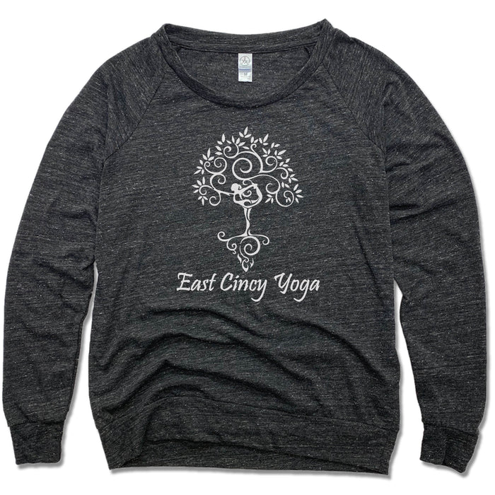 EAST CINCY YOGA | LADIES SLOUCHY | TREE