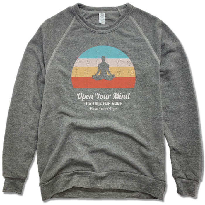 EAST CINCY YOGA | FLEECE SWEATSHIRT | SUN