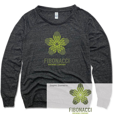 FIBONACCI BREWING COMPANY | LADIES SLOUCHY | COLOR LOGO
