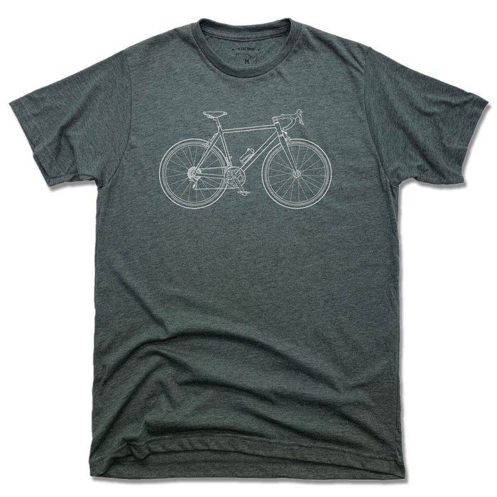ROAD BIKE | UNISEX TEE | MATCHING