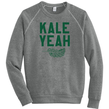 KALE YEAH - Eco-Fleece Sweatshirt