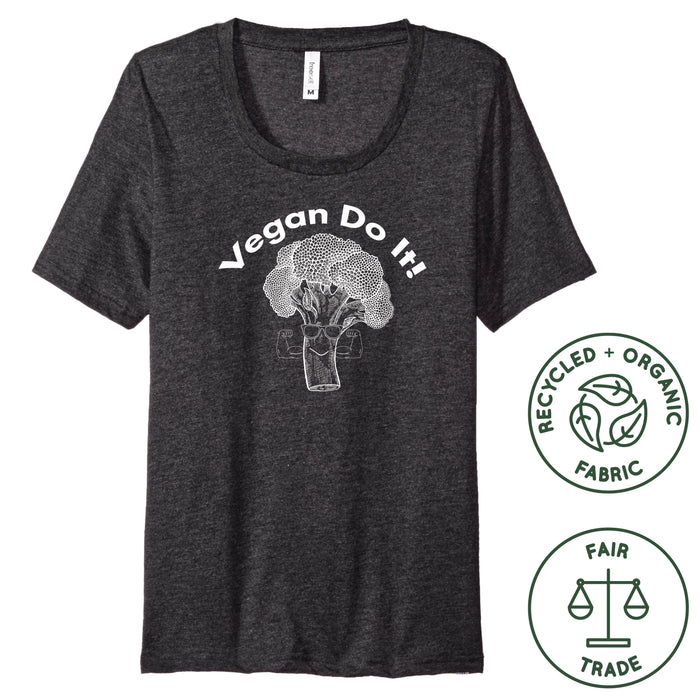VEGAN DO IT - Recycled Poly/Organic Cotton Ladies' Tee