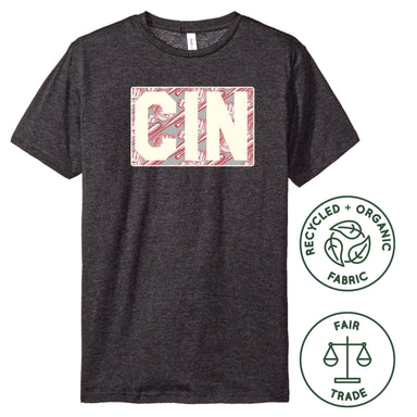 OHIO DARK GRAY UNISEX TEE | CIN | BASEBALL