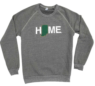 INDIANA SWEATSHIRT | HOME | GREEN/GOLD - My State Threads