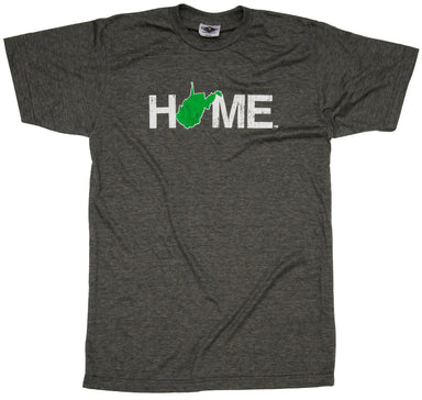 West Virginia Tee | HOME | Green/White