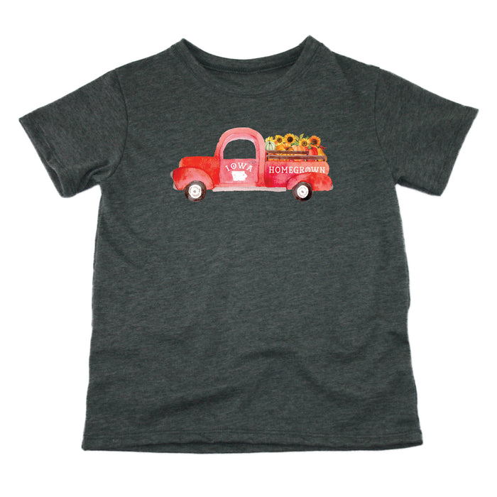 Iowa Fall Homegrown Truck - Kids' Tee