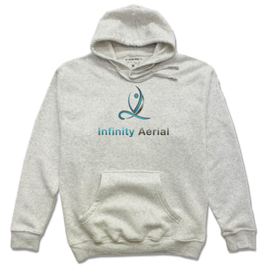 INFINITY AERIAL | FRENCH TERRY HOODIE | LOGO