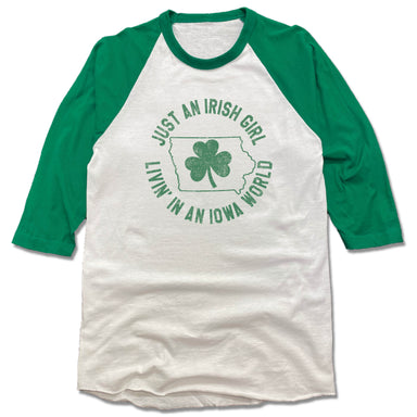 IOWA | 3/4 SLEEVE | JUST AN IRISH GIRL