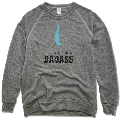INFINITY AERIAL | FLEECE SWEATSHIRT | DEFINITION OF A BADASS