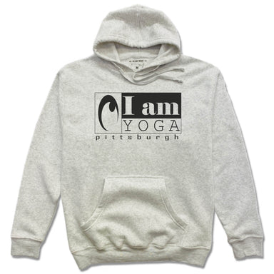 I AM YOGA PITTSBURGH | HOODIE | BLACK LOGO
