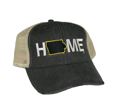 IOWA HAT | HOME | BLACK
