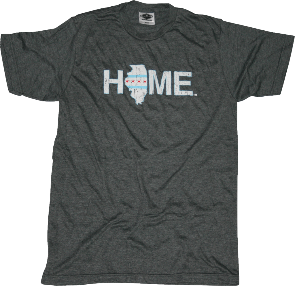 Illinois Flag Tee | HOME | White
