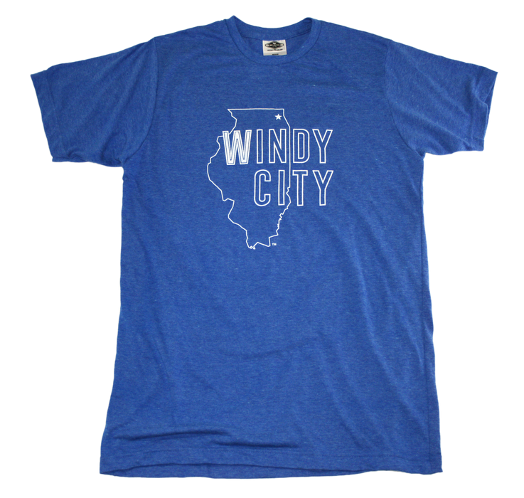 ILLINOIS TEE | WINDY CITY | CHICAGO