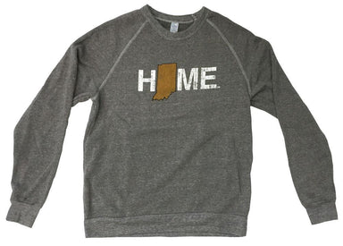 INDIANA SWEATSHIRT | HOME | GOLD/BLACK - My State Threads
