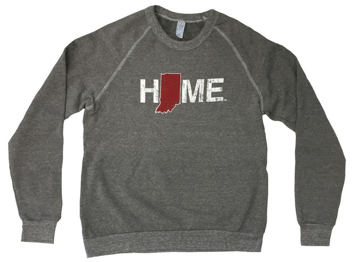 Indiana Sweatshirt | Crimson/Cream