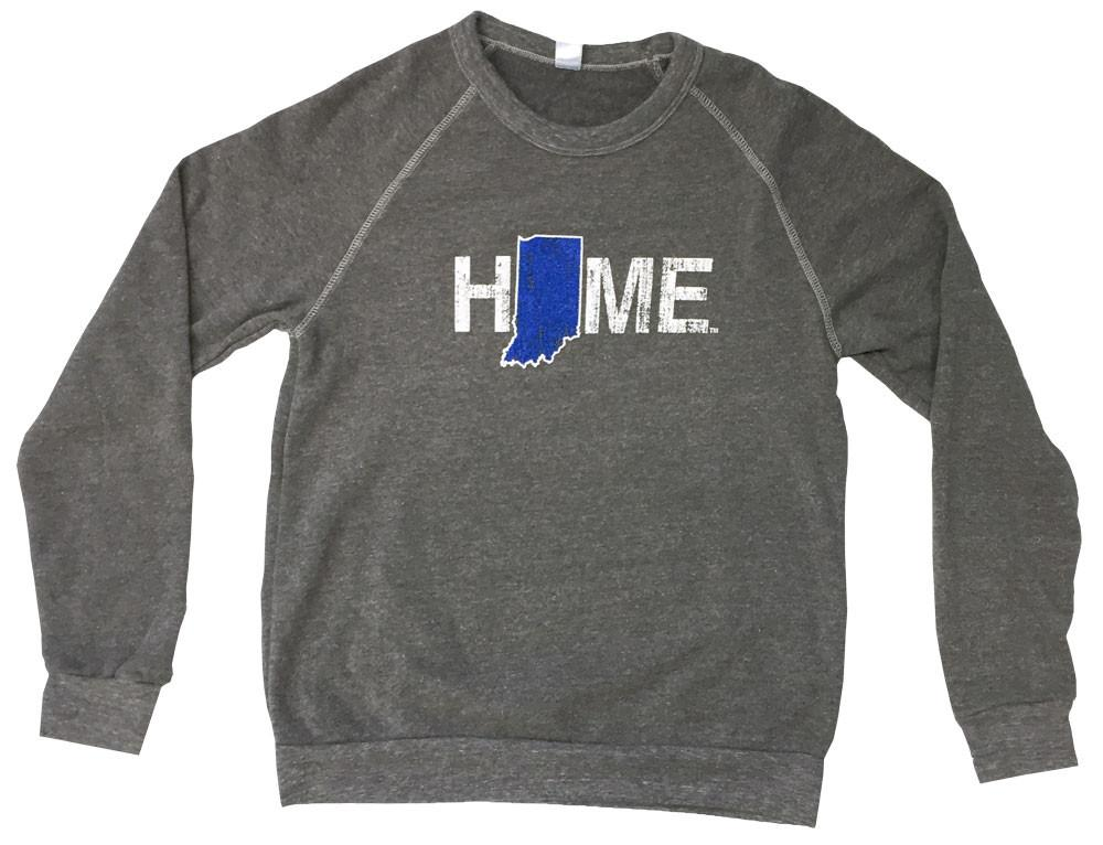 Indiana Sweatshirt | Blue/White