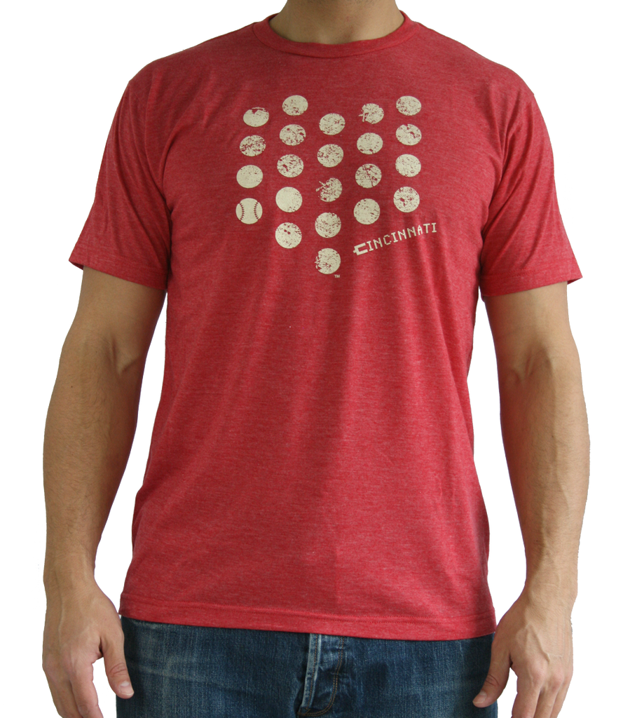OHIO RED TEE | HOMETOWN DOT | CINCINNATI