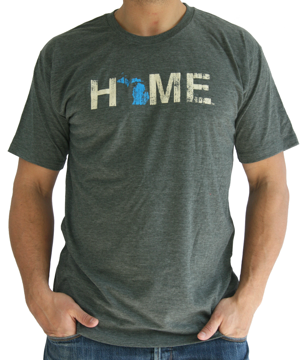 MICHIGAN TEE | HOME | BLUE/EGGSHELL