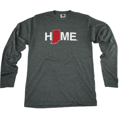 INDIANA LONG SLEEVE TEE | HOME | CRIMSON