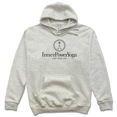 INNER POWER YOGA STUDIO | HOODIE | BLACK LOGO