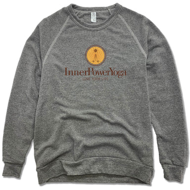 INNER POWER YOGA STUDIO | FLEECE SWEATSHIRT | COLOR LOGO