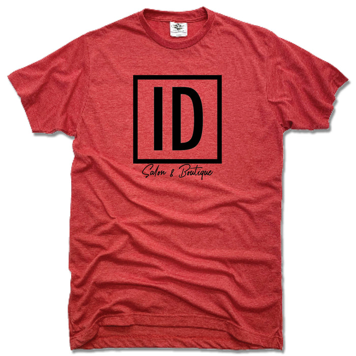 IDENTITIES SALON & BOUTIQUE | UNISEX RED TEE | ID