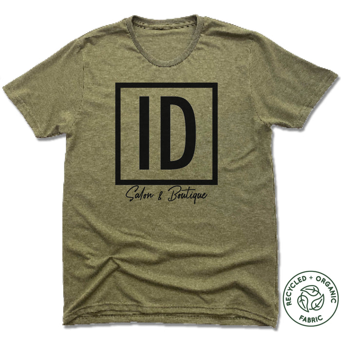 IDENTITIES SALON & BOUTIQUE | UNISEX OLIVE Recycled Tri-Blend | ID
