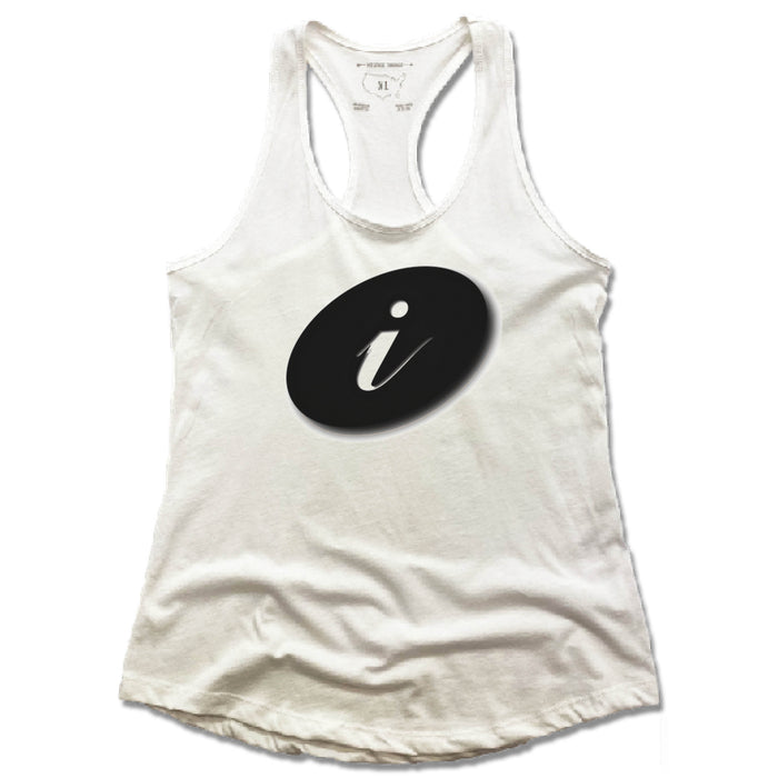 IRELANDS SPA & SALON | LADIES WHITE TANK | i