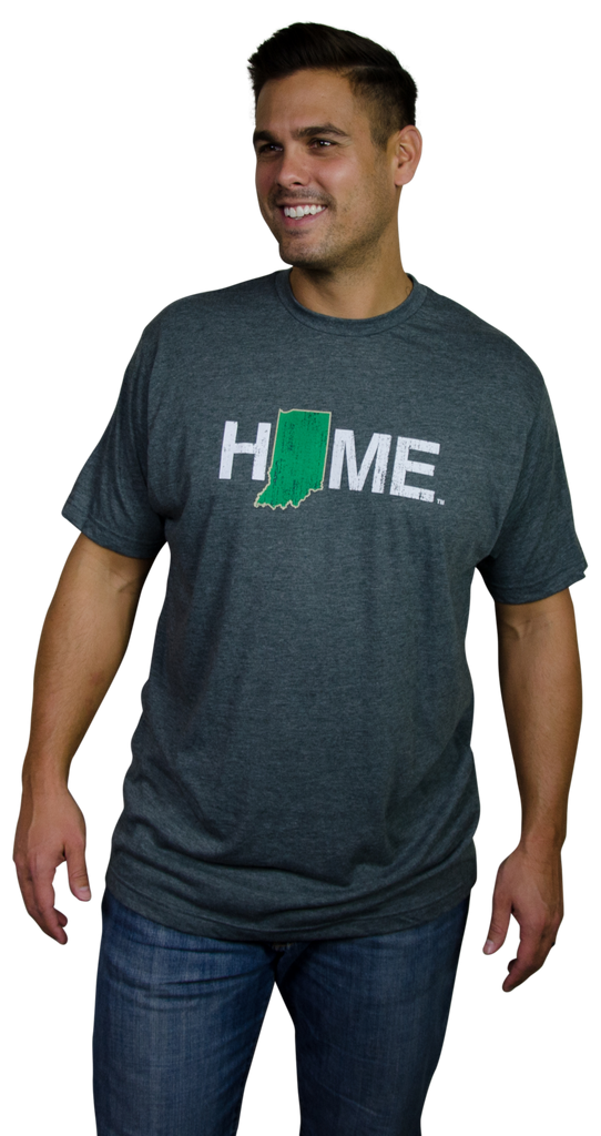 Indiana Tee | Green/Gold