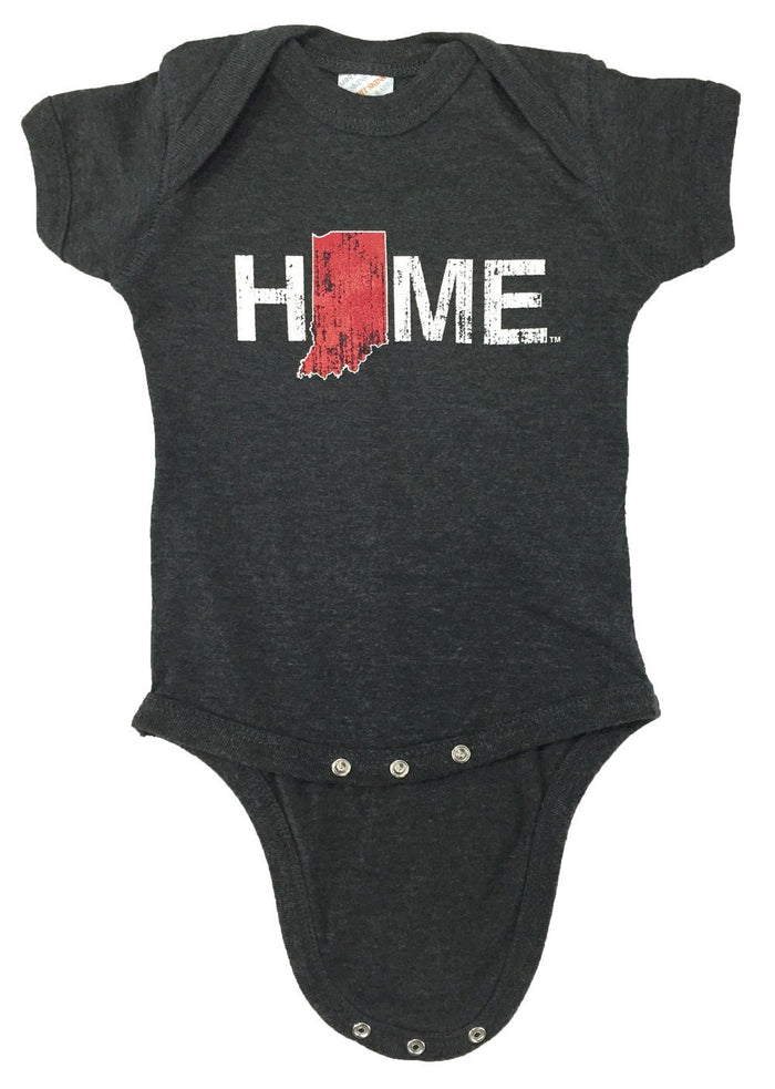 Indiana Onesie | Crimson/White