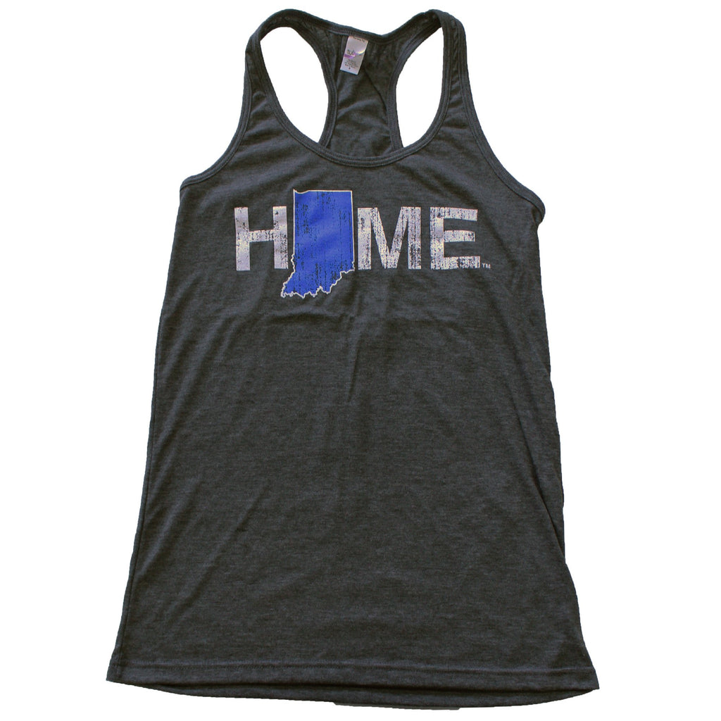 INDIANA LADIES' TANK | HOME | BLUE