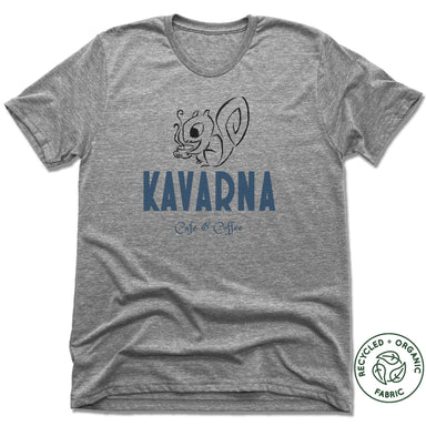 KAVARNA | UNISEX GRAY Recycled Tri-Blend | SQUIRREL