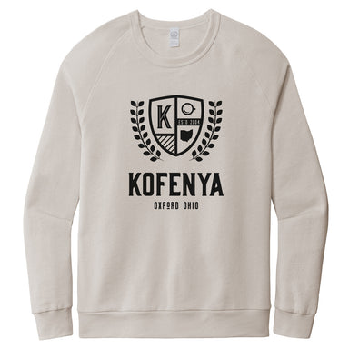 KOFENYA COFFEE | Washed Terry Sweatshirt | CREST