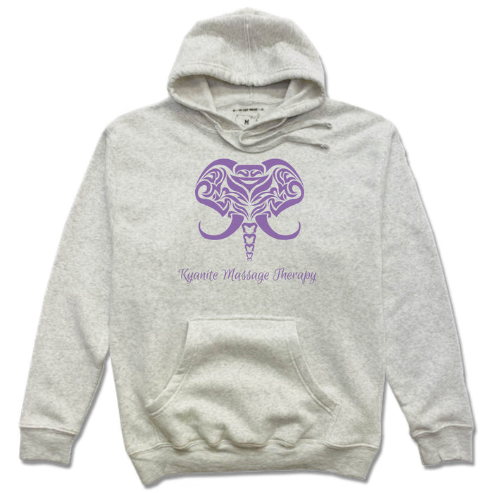KYANITE MASSAGE THERAPY | FRENCH TERRY HOODIE | ELEPHANT