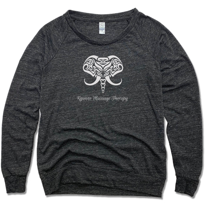KYANITE MASSAGE THERAPY | LADIES SLOUCHY | ELEPHANT