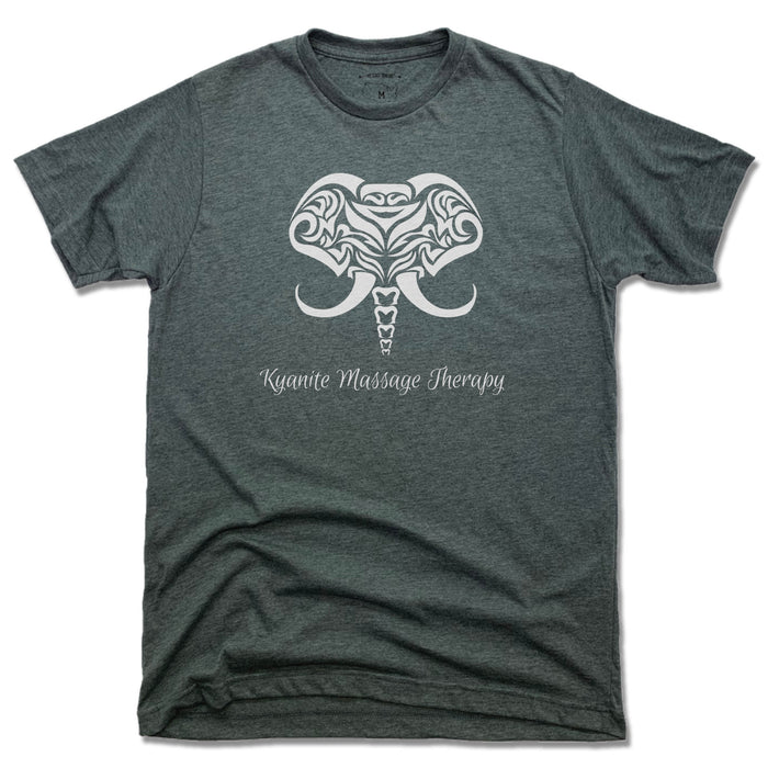 KYANITE MASSAGE THERAPY | UNISEX TEE | ELEPHANT