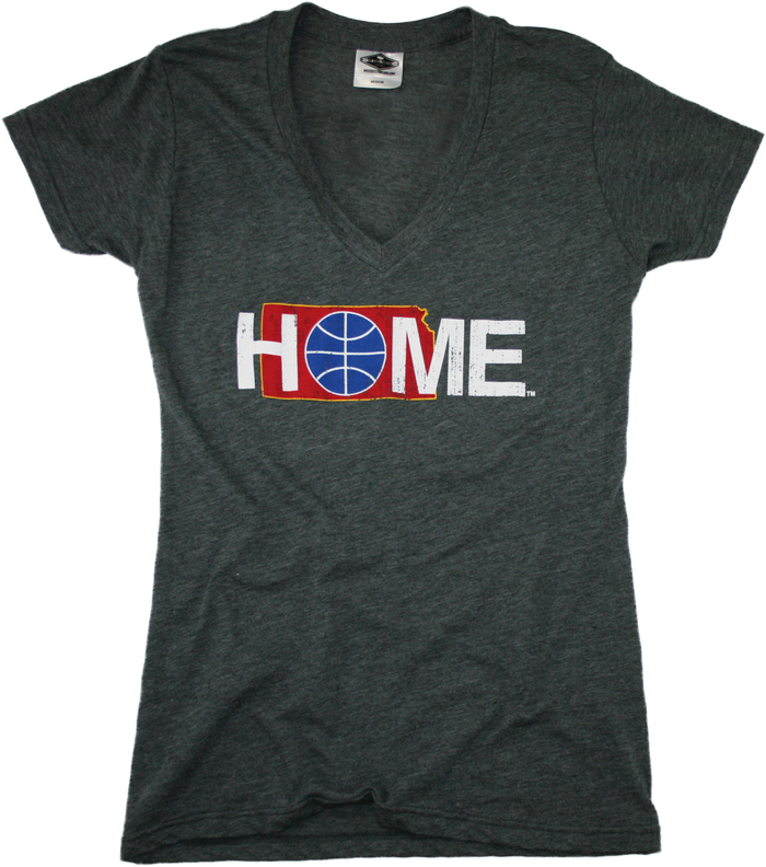 KANSAS LADIES' V-NECK | HOME | BASKETBALL