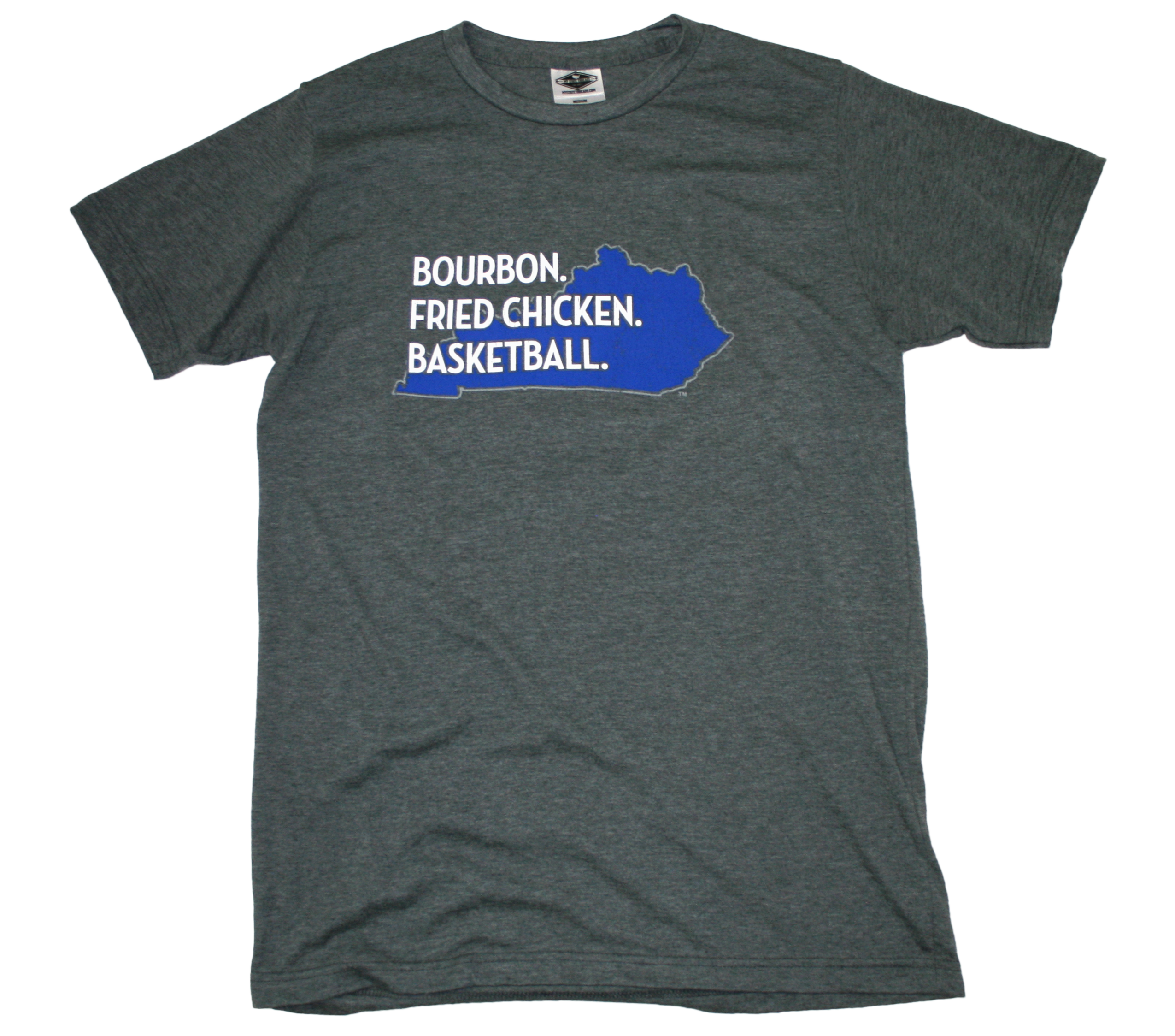 KENTUCKY TEE | BOURBON. FRIED CHICKEN. BASKETBALL | BLUE