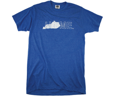 KENTUCKY BLUE TEE | HOME | WHITE - My State Threads