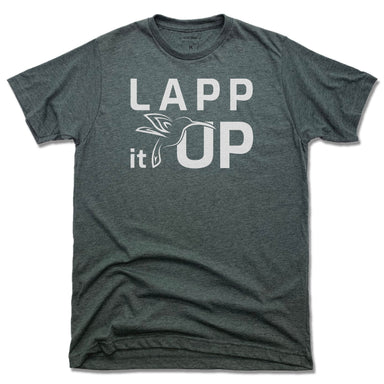 LAPP IT UP | UNISEX TEE | WHITE LOGO