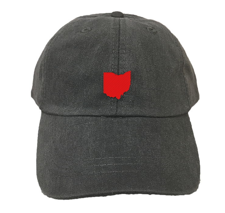 OHIO Black HAT | State Only | Red
